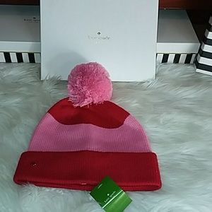 Red & Pink Kate Spade Hat